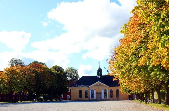 The church inside Kastellet.