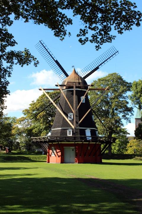 Windmill inside Kastellet.