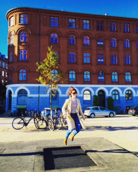 Copenhagen has tons of public spaces, including these trampolines built in to the ground along the water!